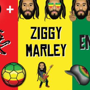 Emojis de reggae Ziggy Marley