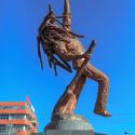 Bob marley estatua reggae